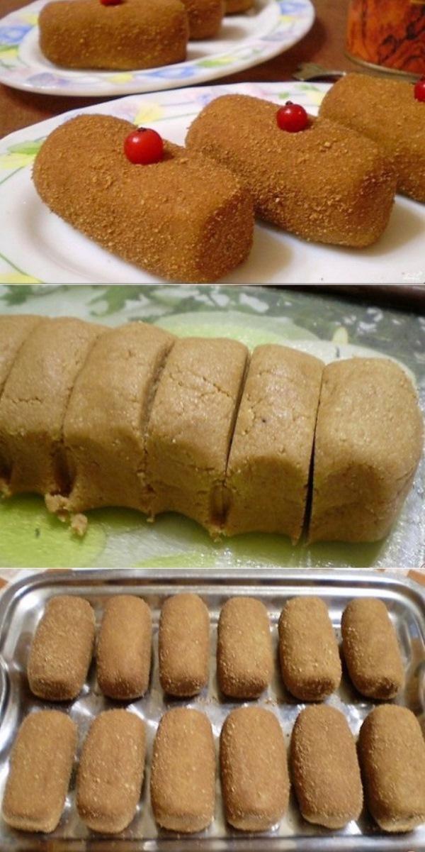 Магазинное пирожное «Картошка» из печенья рядом не стояло!