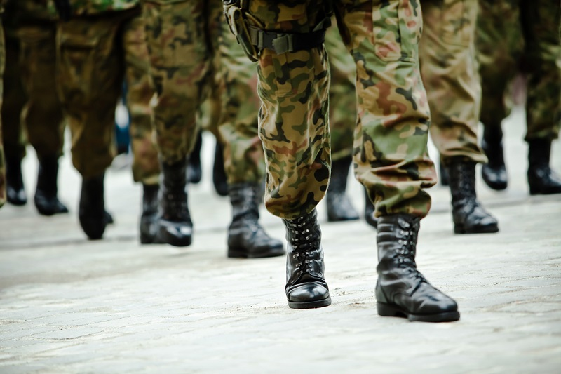 soldiers-of-the-armed-forces-marching