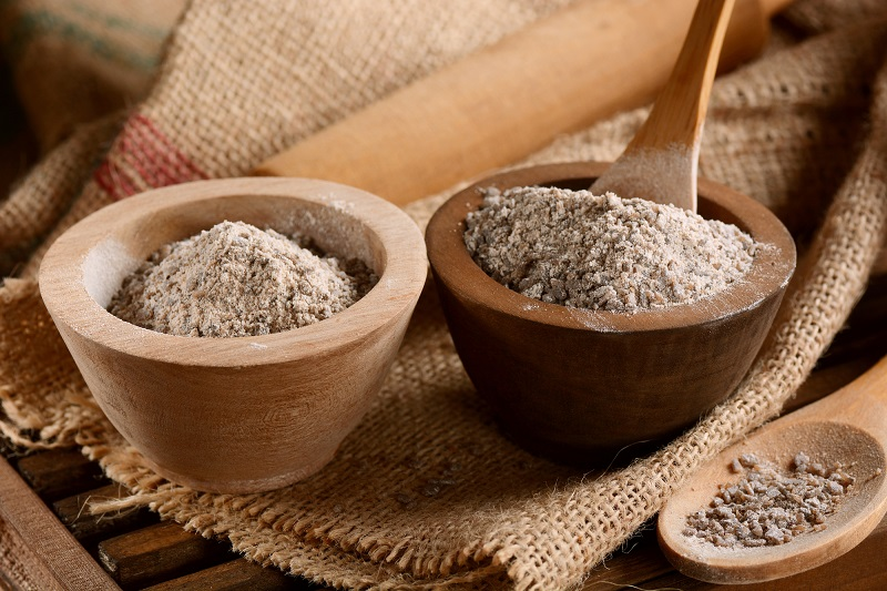 buckwheat-flour-in-the-bowl